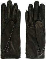 Gucci classic gloves - women - Silk/Lamb Skin - 7