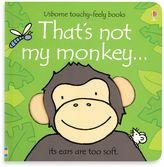 Bed Bath & Beyond Usborne That's Not My Monkey Touchy-Feely Board Book