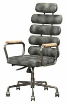 Gabriel Executive Chair Williston Forge Upholstery Color: Gray