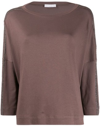 Fabiana Filippi loose-fit boat neck jumper