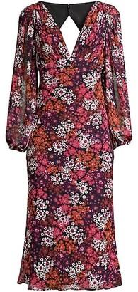 Fame & Partners Paloma Back Tie Dress