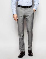 Ben Sherman Plain Wool Blend Suit Trousers