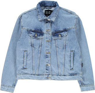 Dr. Denim Destiny Blue Alva Trucker Jacket - medium