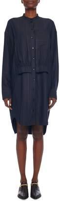 Tibi Striped High-low Shirtdress