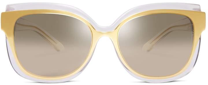 Tory Burch Mixed-Materials Sunglasses