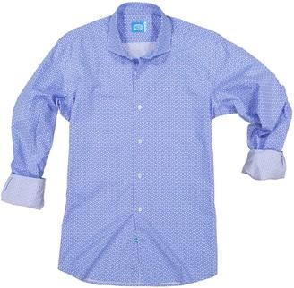 Panareha Sagres Printed Shirt in Blue