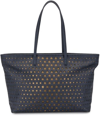 Fendi Pre Owned Cut-Out Stars Tote