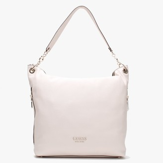 GUESS G Stone Pebbled Hobo Bag