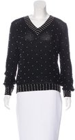 See by Chloe Wool-Blend Embellished Sweater