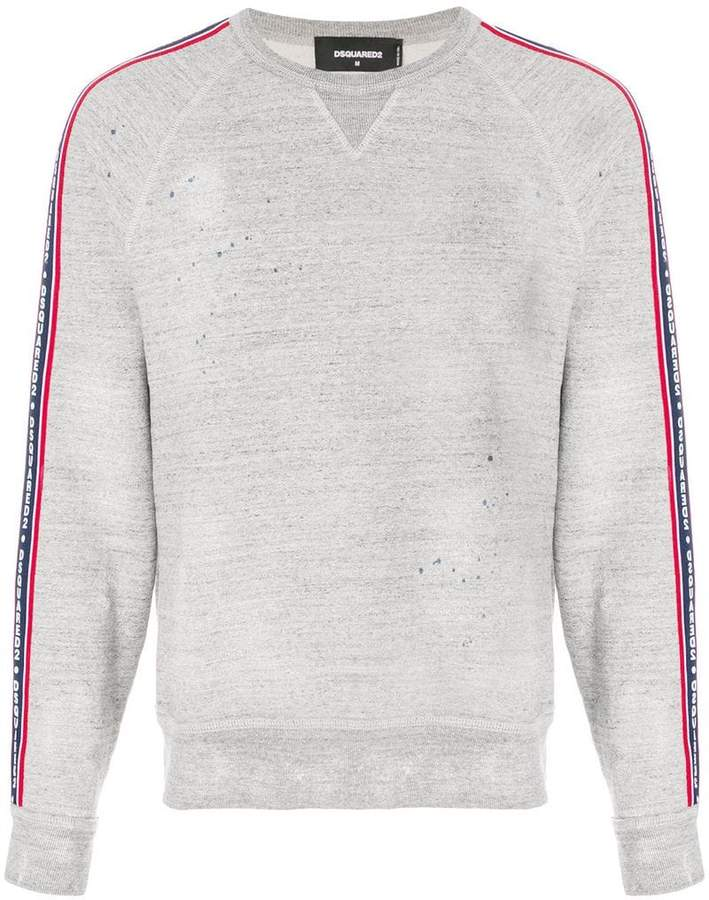 DSQUARED2 logo ribbon sweatshirt