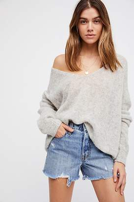Levi's High-Rise Wedgie Cutoff Shorts at Free People