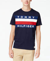 Tommy Hilfiger Men's Upstate Logo Flag T-Shirt, Created for Macy's