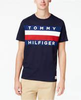 Tommy Hilfiger Men's Upstate Logo Flag T-Shirt