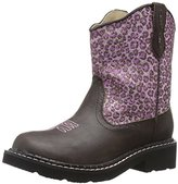 Roper Cheetah Round Toe Chunk Boot (Toddler/Little Kid)