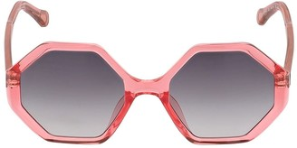 Chloé Rectangle Acetate Sunglasses