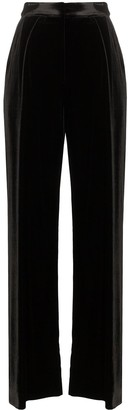 Michael Lo Sordo High-Waist Wide-Leg Trousers