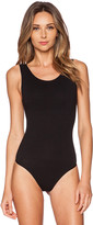 Yummie by Heather Thomson Ruby Scoop Neck Bodysuit