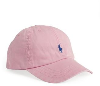 Ralph Lauren Kids Polo Pony Logo Cap (2-4 Years)