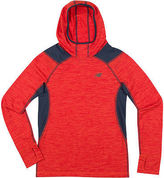 New Balance Boys Long Sleeve Hooded Performance T-Shirt-Preschool