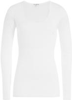 James Perse Cotton Scoop Neck T-Shirt