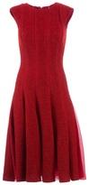Giambattista Valli pleated flared dress