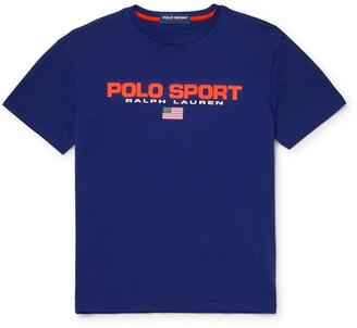 Polo Ralph Lauren Logo-Print Cotton-Jersey T-Shirt