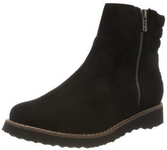 Roxy Jovie Fur - Faux Leather Boots for Women - Faux Leather Boots - Women Black