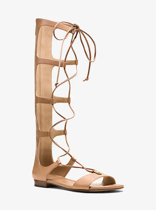 Michael Kors Sofia Leather Gladiator Sandal