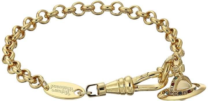 Vivienne Westwood New Petite Orb Pendant Bracelet Necklace