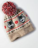 American Eagle Outfitters AE Light Up Wolf Beanie