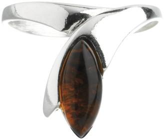Nature D'ambre Nature d 'Ambre 3111222Women's Ring Silver 925/1000Amber