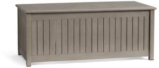 Pottery Barn Chatham Storage Bench, Gray