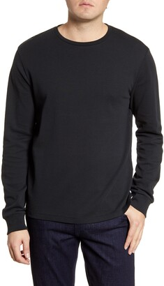 Frame Cotton Long Sleeve Crewneck T-Shirt