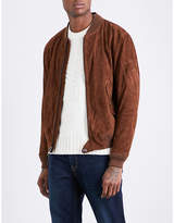 Polo Ralph Lauren Stand-collar suede jacket