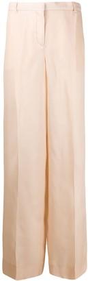 Nina Ricci Sheer High-Waisted Trousers
