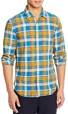 Aspesi Madras Regular Fit Plaid Shirt