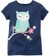 Carter's Baby Girls Owl Tee 12M