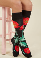 Topped With Poppies Socks