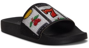 INC International Concepts Inc Women's Peymin Pool Slides, Created for Macy's Women's Shoes