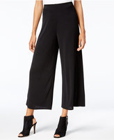 Kensie Cropped Wide-Leg Pants