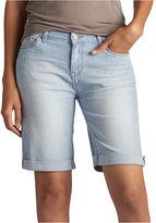 Lee 8 Modern Fit Denim Bermuda Shorts-Petites