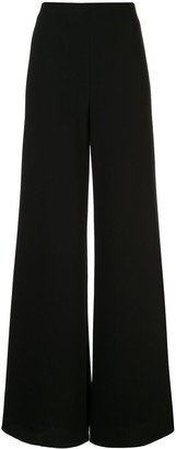 Alexis Irvine high-rise palazzo trousers