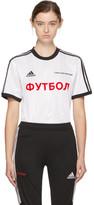Gosha Rubchinskiy White Adidas Originals Edition T-shirt