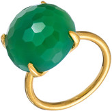Heather Hawkins Radiate Gemstone Ring - Chrysoprase Chalcedony 4410064839
