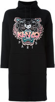 Kenzo Tiger sweatshirt dress - women - Cotton - M