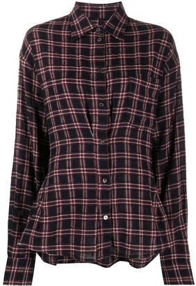 Unravel Project Checked Fitted Shirt