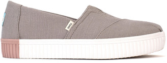 Toms Grey Dove Indio Alpargata