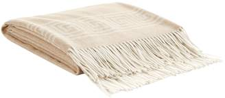 Peter Reed Greek Key Cashmere Throw (140cm x 190cm)