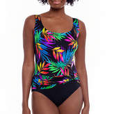 Robby Len By Longitude Leaf One Piece Swimsuit