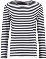 Minimum Coral Long Sleeved Top Dark Navy